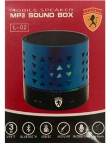 MICROCADENAS ALTAVOZ MINI L02 3W BLUETOOTH USB BARATO DE OUTLET